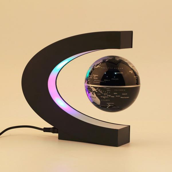 Anti-Gravity Floating Globe with Ambient Lights