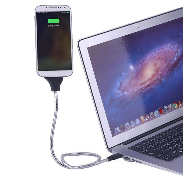 The Flexing Smartphone Dock and Charging Cable