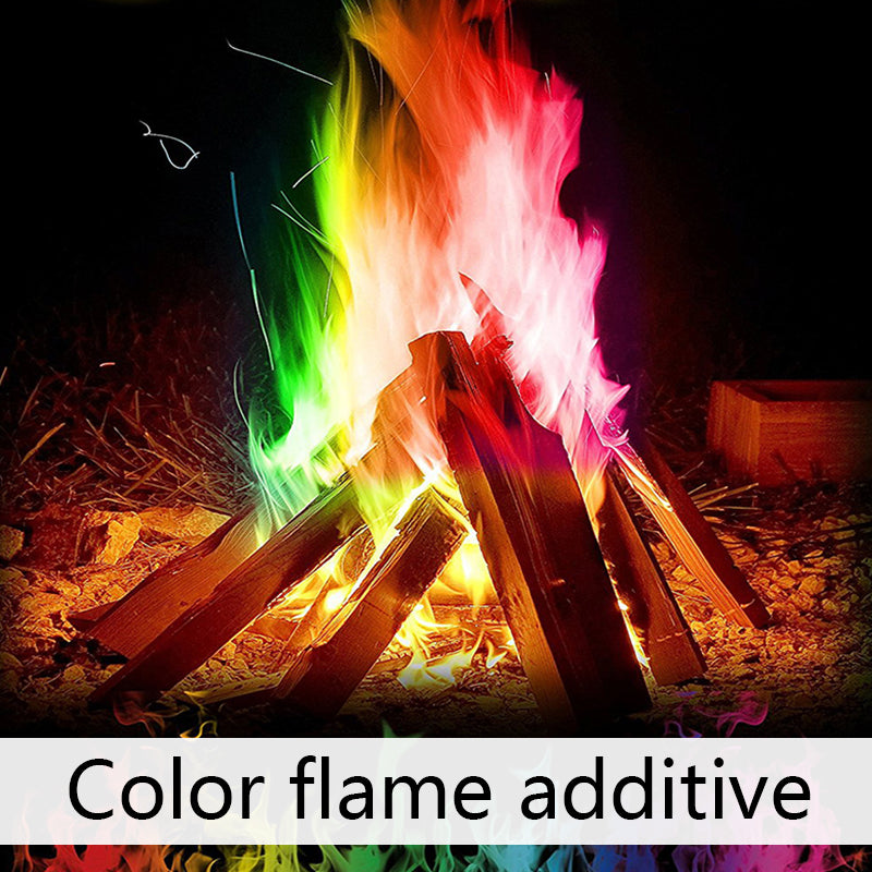 4-Pack The Colorful Campfire