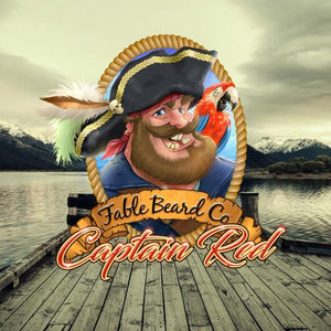 Captain Red | A Bay Rum Pirate Blend Beard Oil & Beard Balm