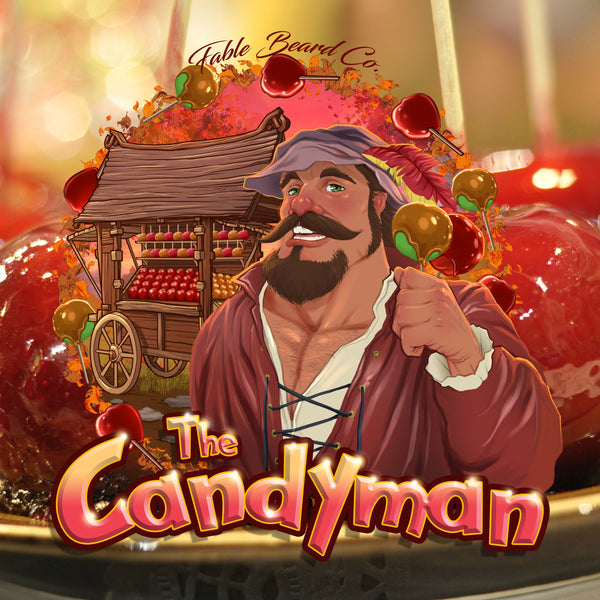 The Candyman - Caramel Apple Scented Beard Collection