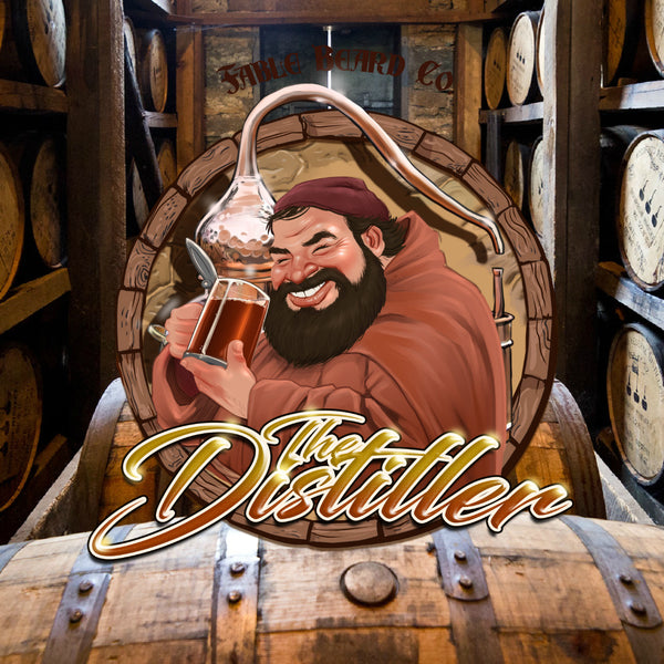 The Distiller - A Spiced Vanilla Bourbon Beard Collection
