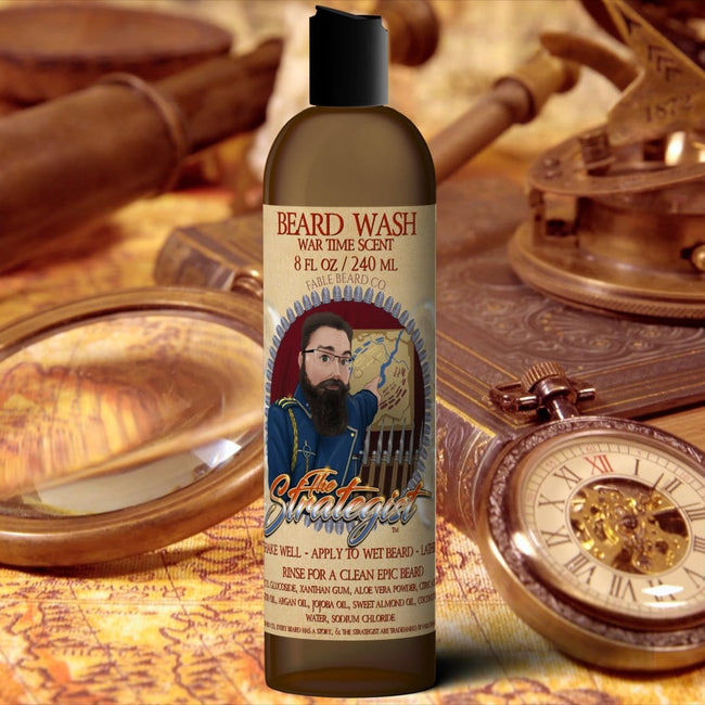 The Strategist - Leather & Tobacco Beard Wash