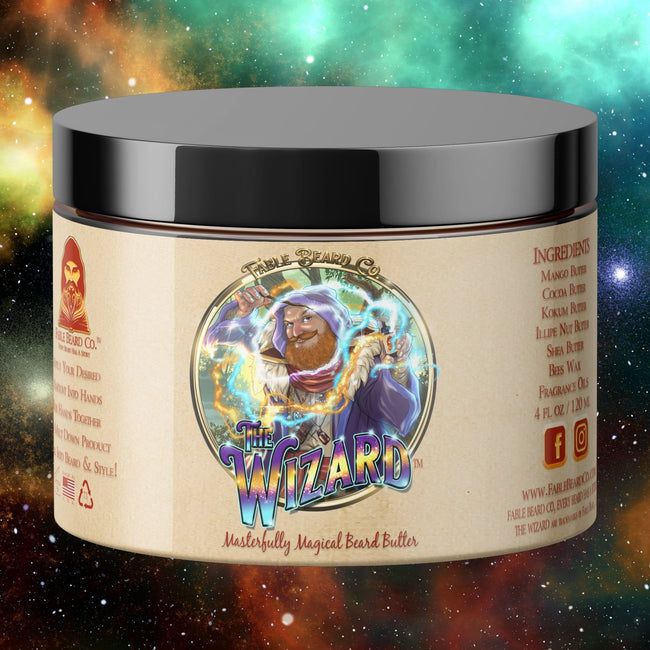 The Wizard - Magical Oud Cologne Beard Butter