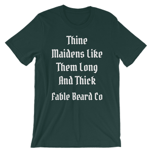 Fable Beard Co. Forest / S Long and Thick Short-Sleeve T-Shirt