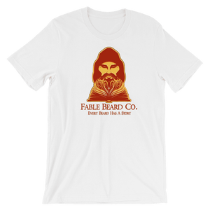Fable Beard Co. White / S Fable Beard Co Logo Short-Sleeve Unisex T-Shirt