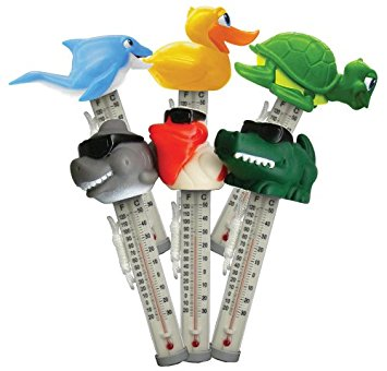 Floating Character Animal Thermometer