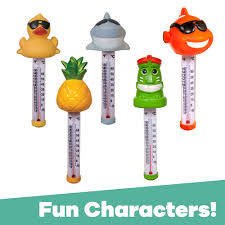 Game Character Floating Thermometers