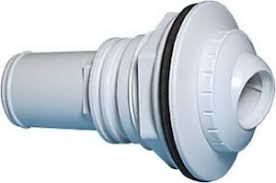 Return Inlet Fitting-1.5 Inch Socket w/ Nut, Gaskets, Directional Flow Fitting & Fittings