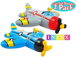 INTEX Water Gun Plane Ride-On Pool Float