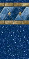 "Aboveground Pool Liner,  Lakeview Tile -  52"" UniBead-GLI"