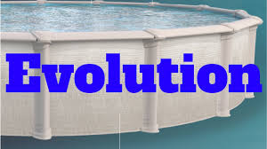 "Evolution 52"" Steel A/G Pool - Only Package (includes Skimmer, Liner, & Bead Receiver)"