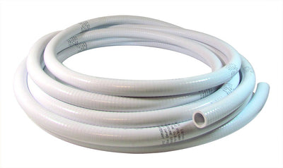 "PVC White Flex Hose  1-1/2"" & 2"""