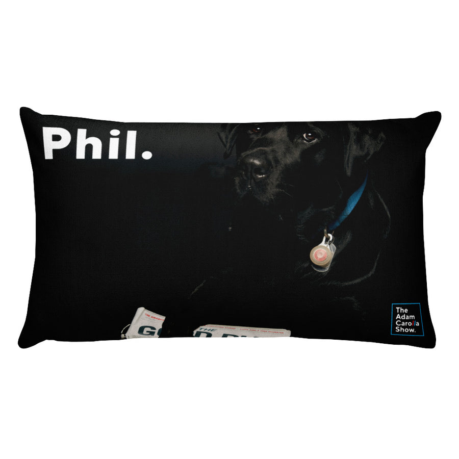 Adam & Phil, Rectangular Pillow, The Adam Carolla Show