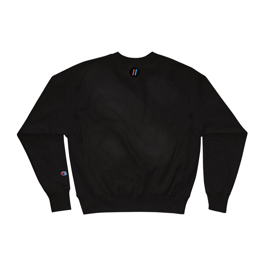Champion Sweatshirt, The Adam Carolla Show Logo On Front, Icon on Back