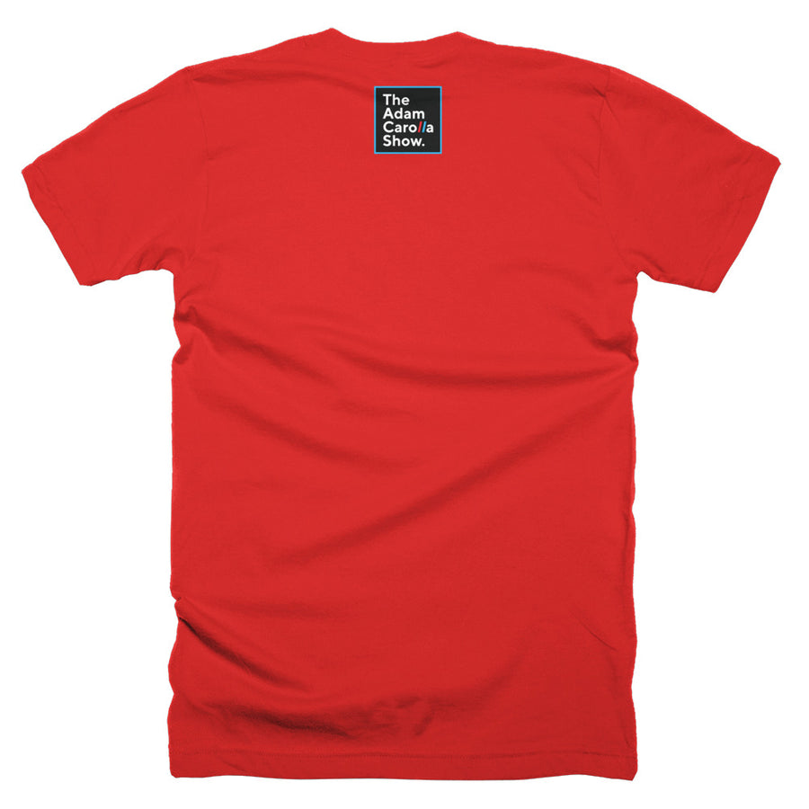 "Short-Sleeve T-Shirt (American Apparel), ""Do you like coffee or just hazelnut creamer?"" 