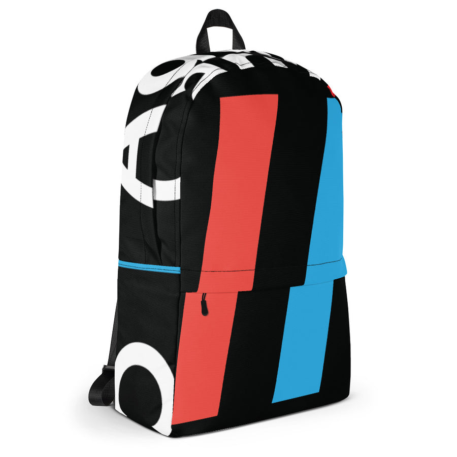 Stripes Backpack, The Adam Carolla Show