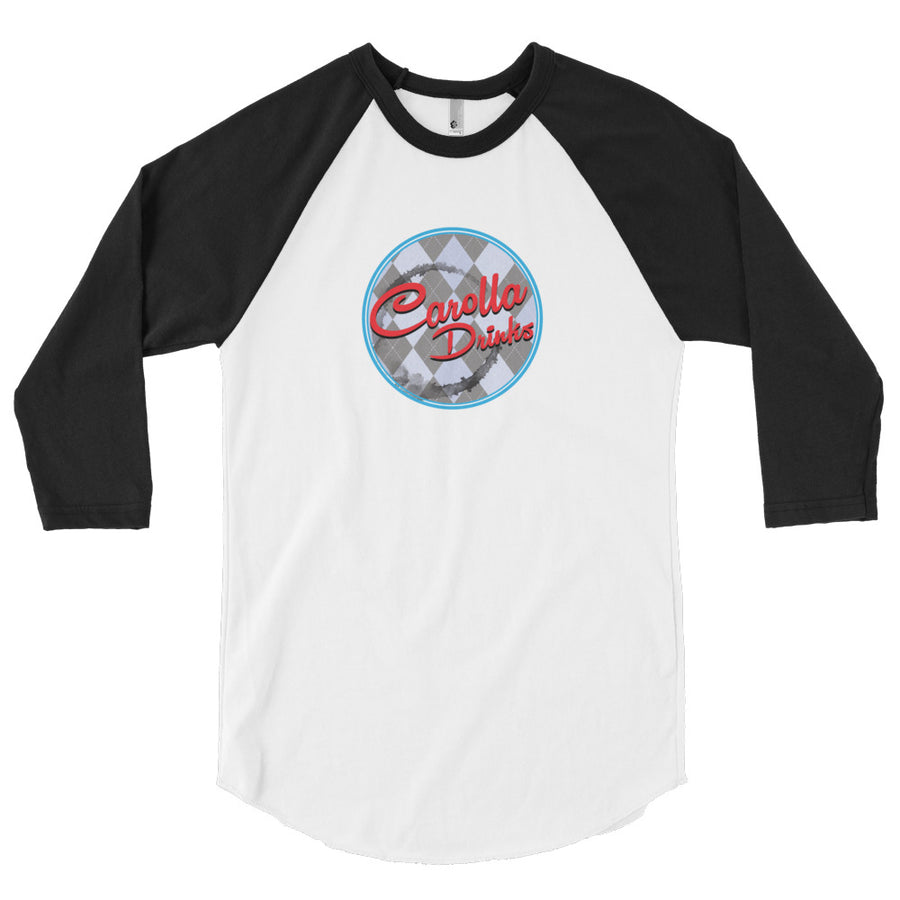 3/4 Sleeve Raglan Shirt (American Apparel), Carolla Drinks