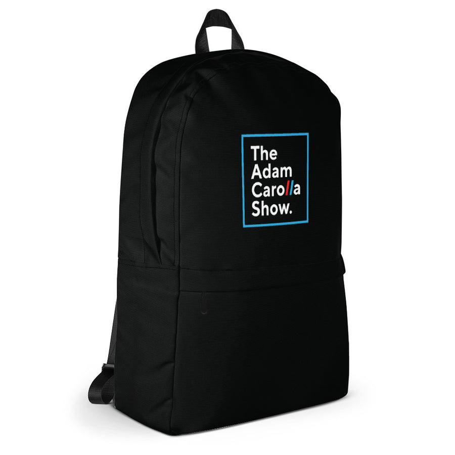 Logo Backpack, The Adam Carolla Show