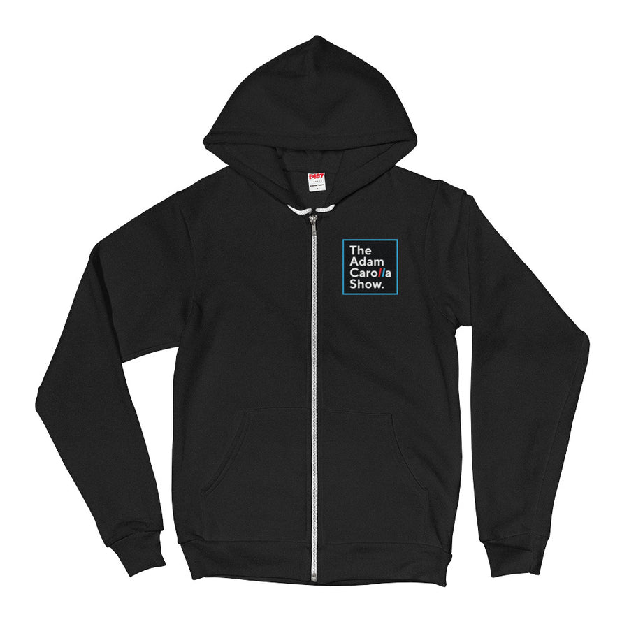 Zippered Hoodie (American Apparel), The Adam Carolla Show