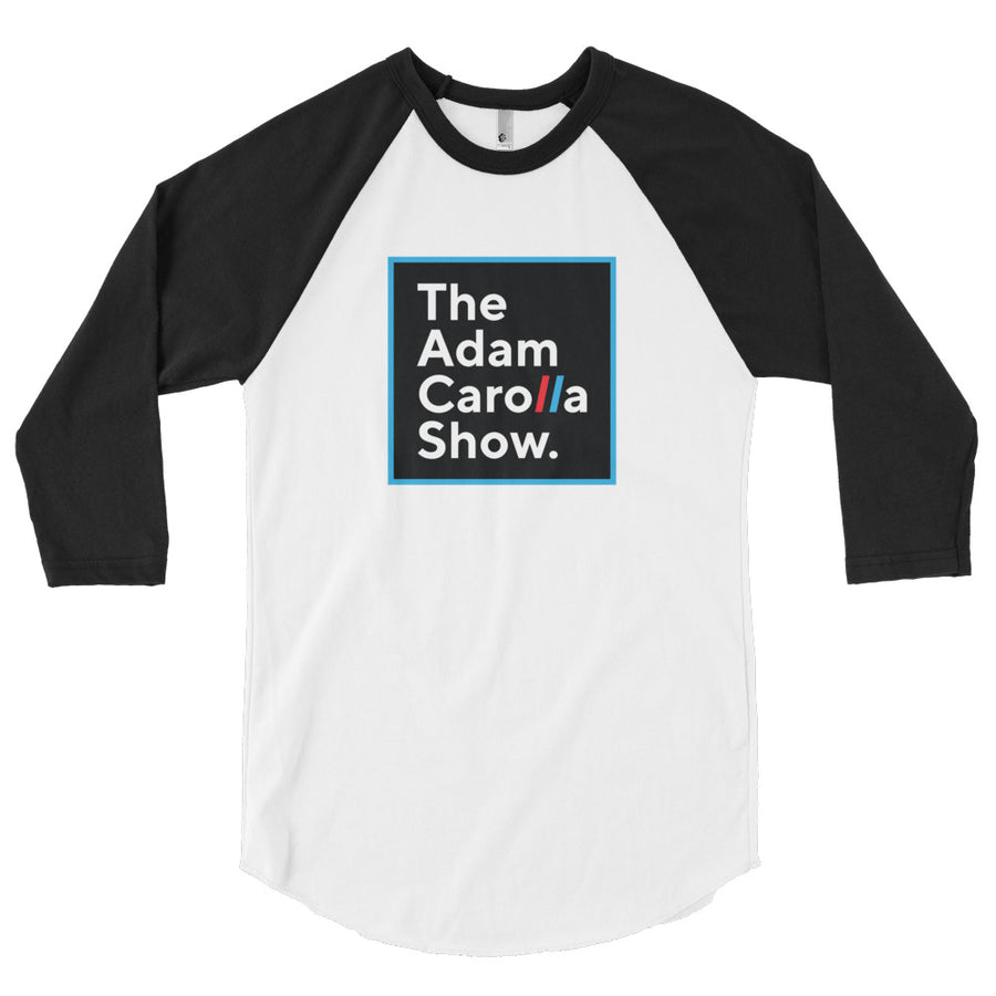 3/4 Sleeve Raglan Shirt (American Apparel), The Adam Carolla Show
