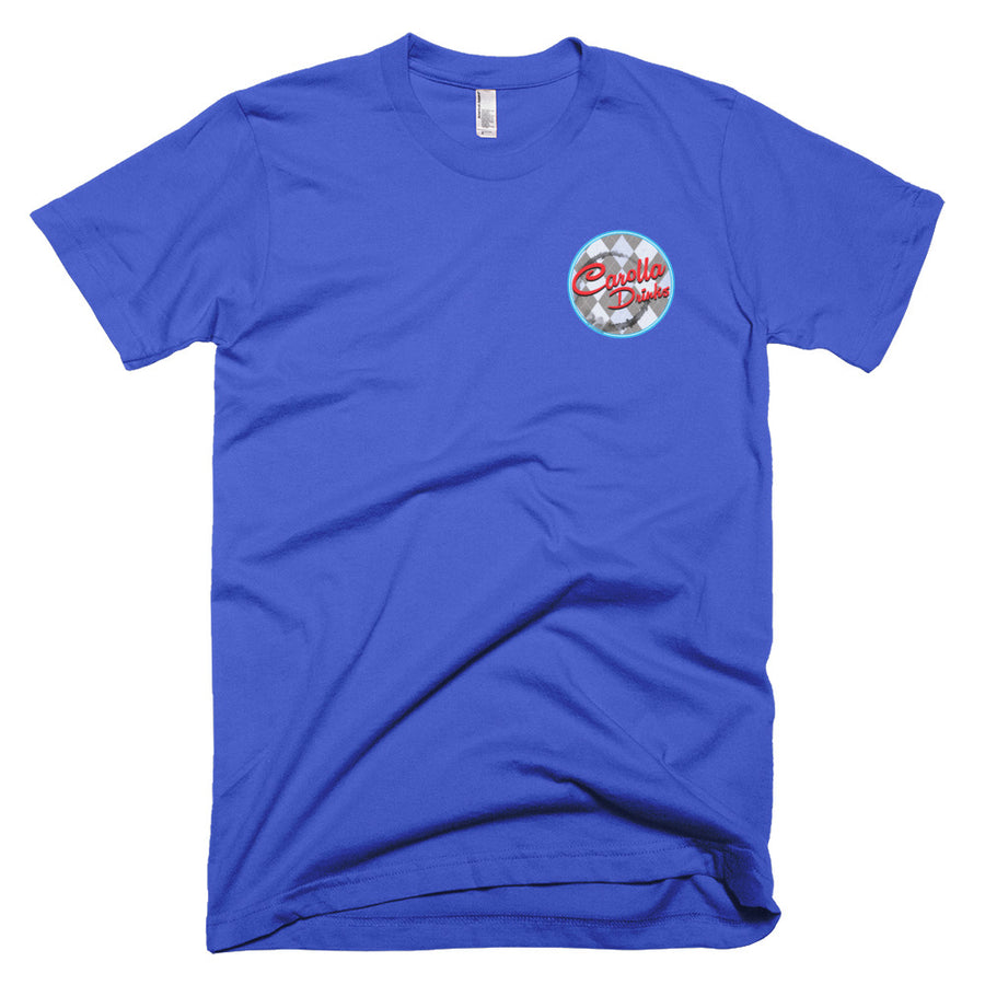 Short-Sleeve T-Shirt (American Apparel), Carolla Drinks