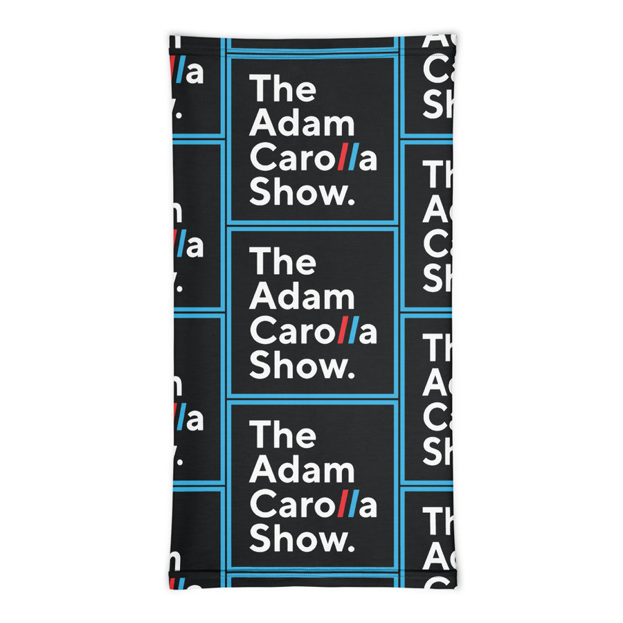Neck Gaiter, The Adam Carolla Show Logo