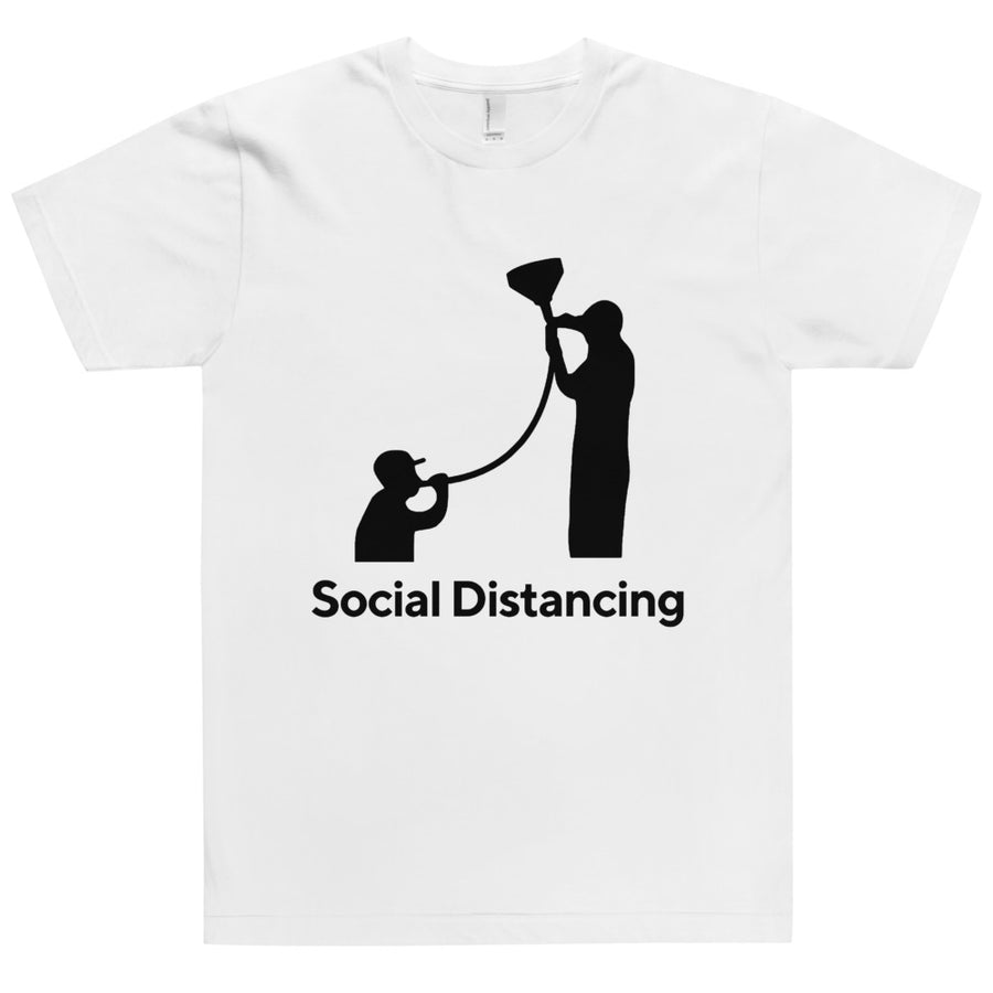 T-Shirt, Social Distancing, Carolla Drinks
