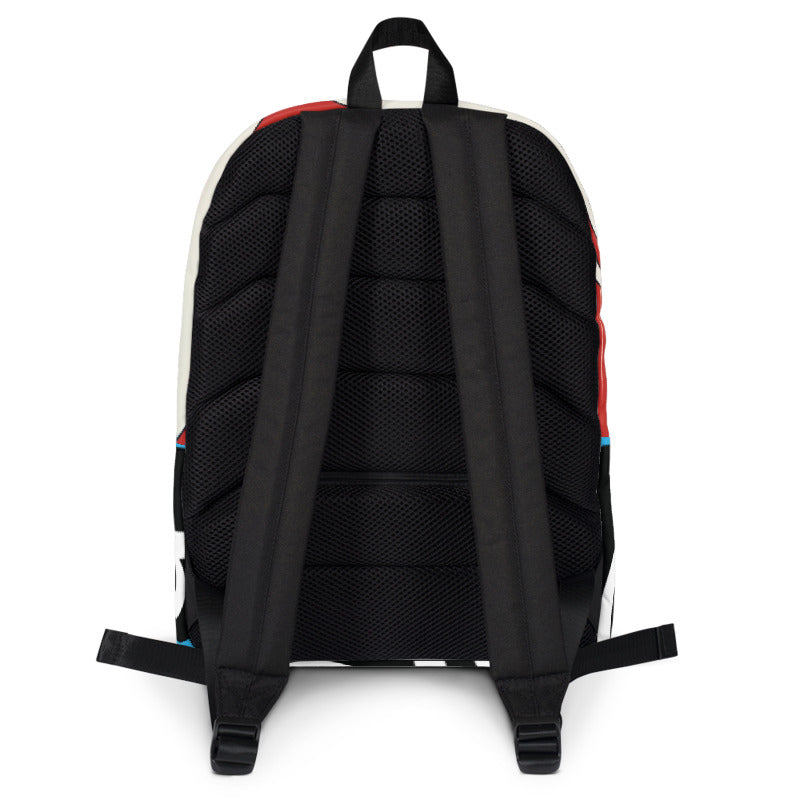 Raceway Backpack, The Adam Carolla Show