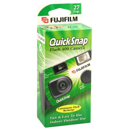 Fujifilm Quicksnap - One Time Use 35mm Camera with Flash