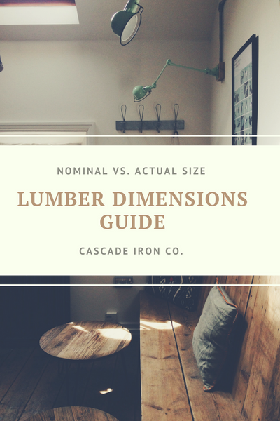 Guide to Lumber Dimensions