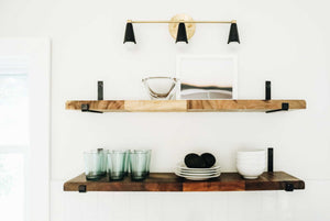 J Shelf Bracket for Floating Shelves