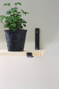 farmhouse floating shelf bracket