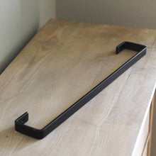 industrial metal towel bar