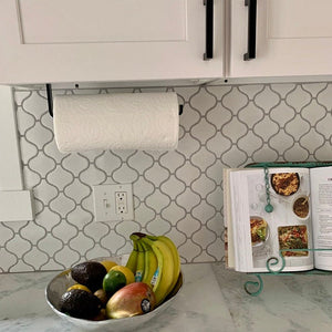 Paper Towel Holder - Under Cabinet or Wall Mount