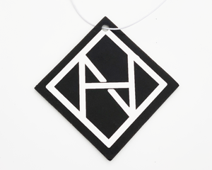 No Hesi Car Air Freshener logo (New Car)