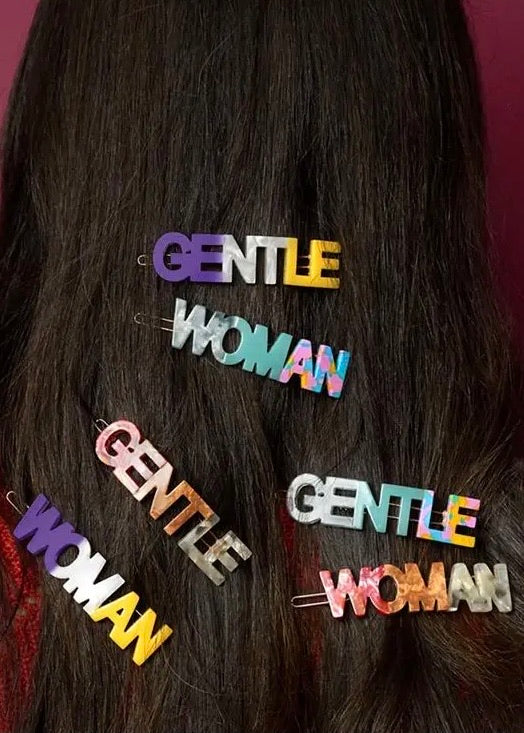 Gentle Woman Hair Clip Set