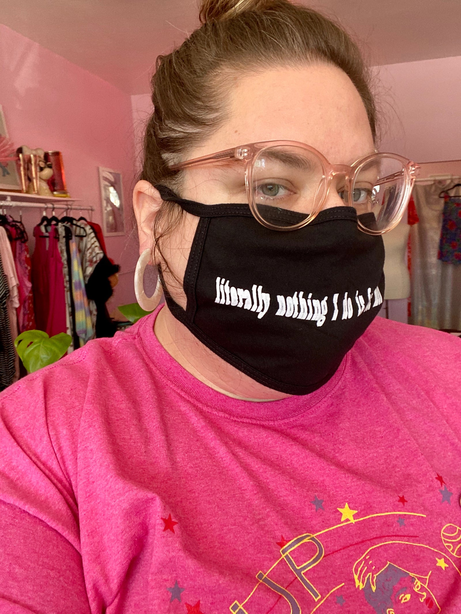 XL Size Literally Nothing Face Masks (Final Sale)