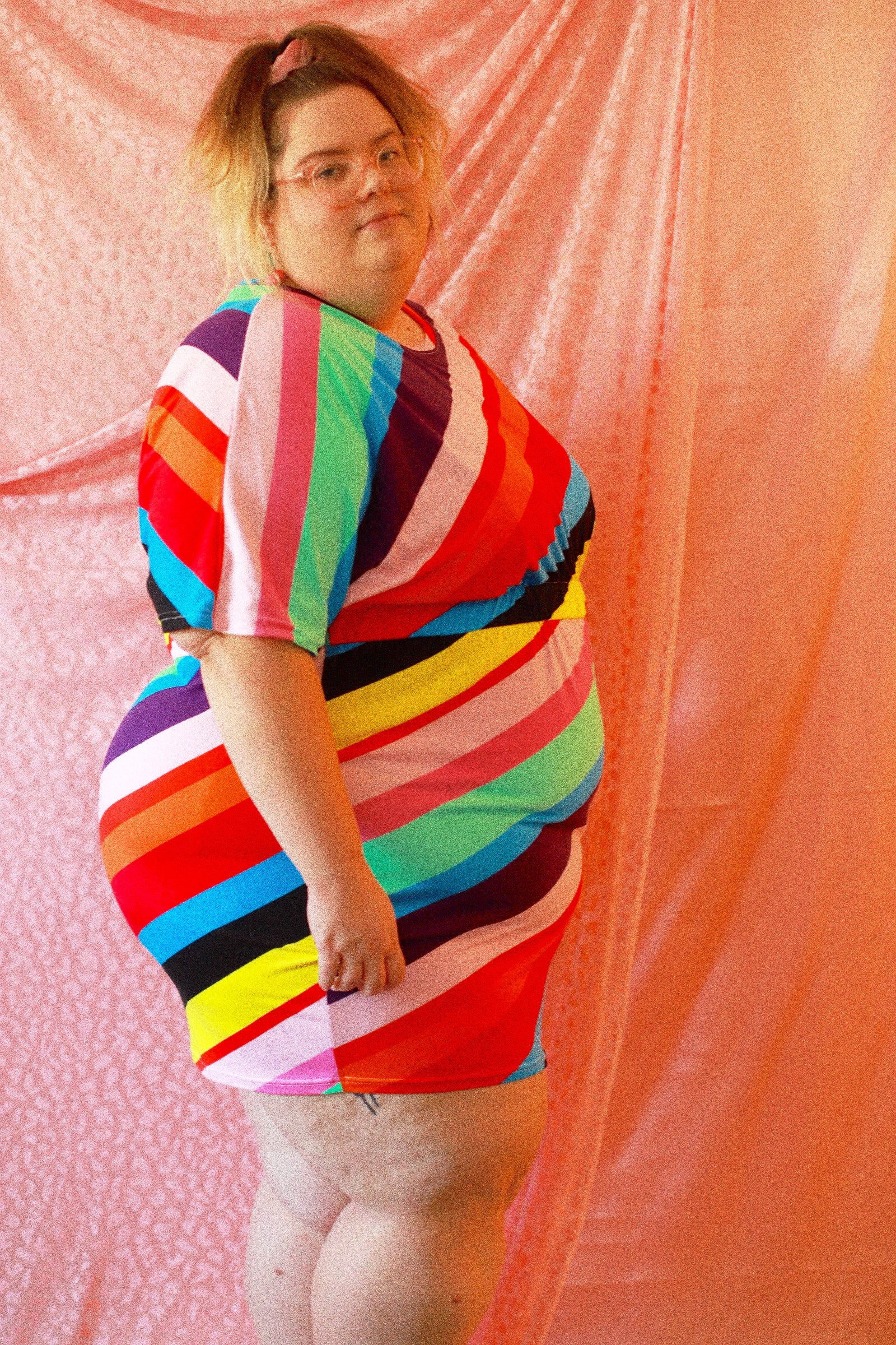 Candyland Tee-shirt Dress