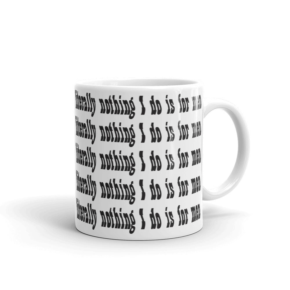 Literally Nothing Mug