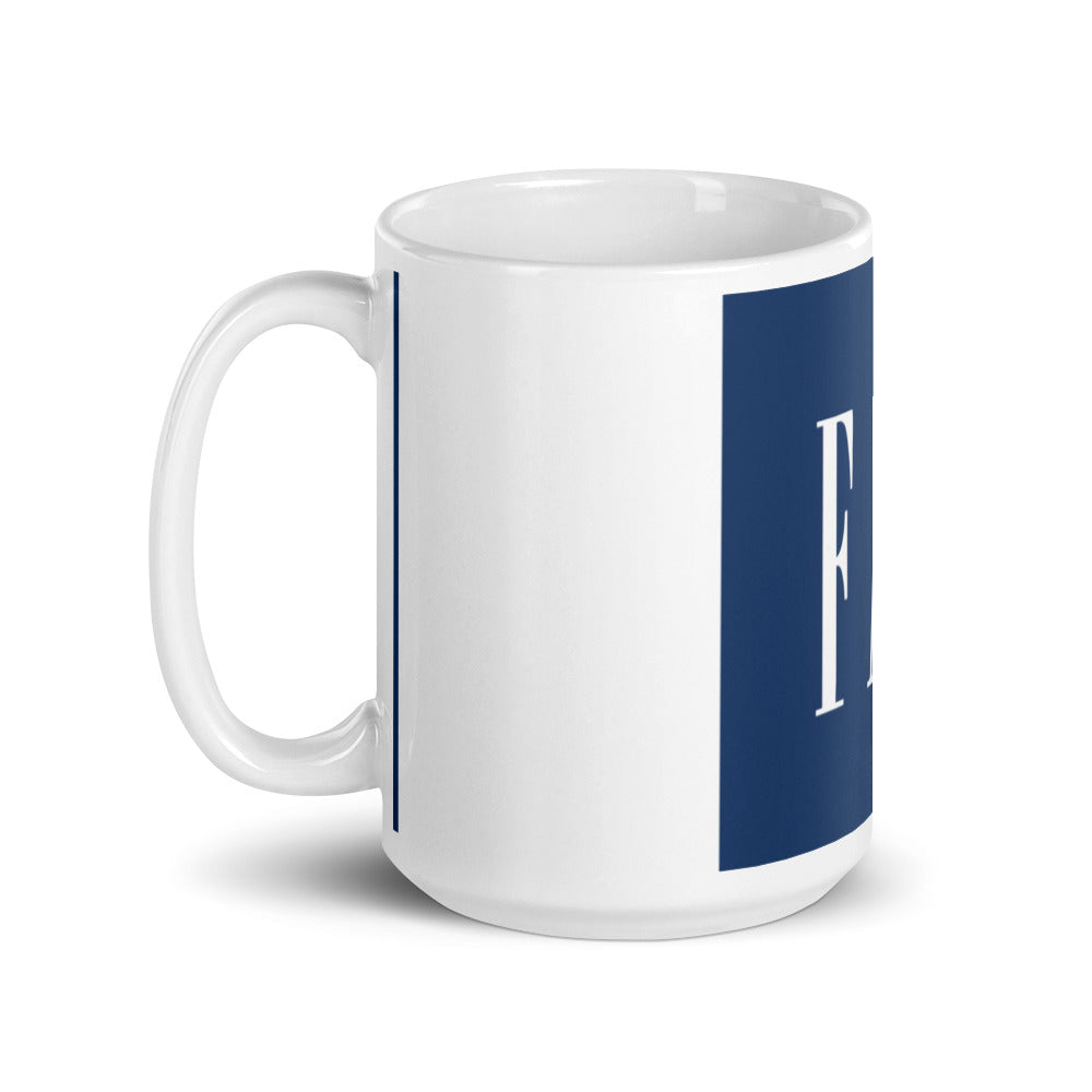 Fat Inc Logo Parody Mug