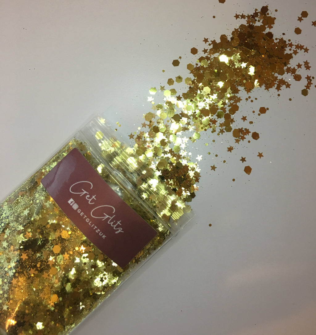 Glam Gold - Chunky Glitter UK