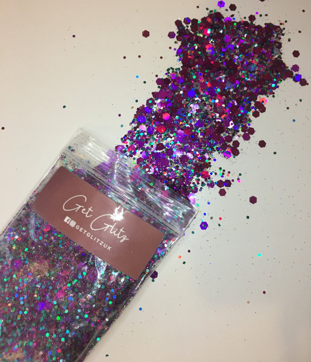Purple Daze - Chunky Glitter UK