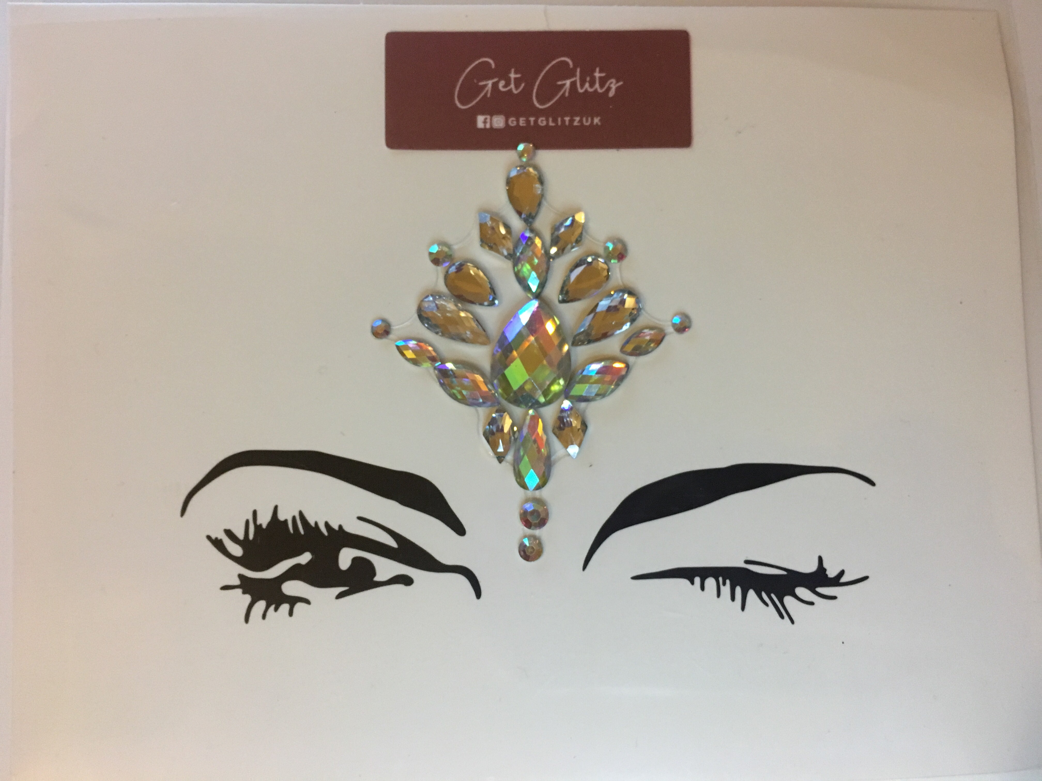 Bold Bindi - Chunky Glitter UK
