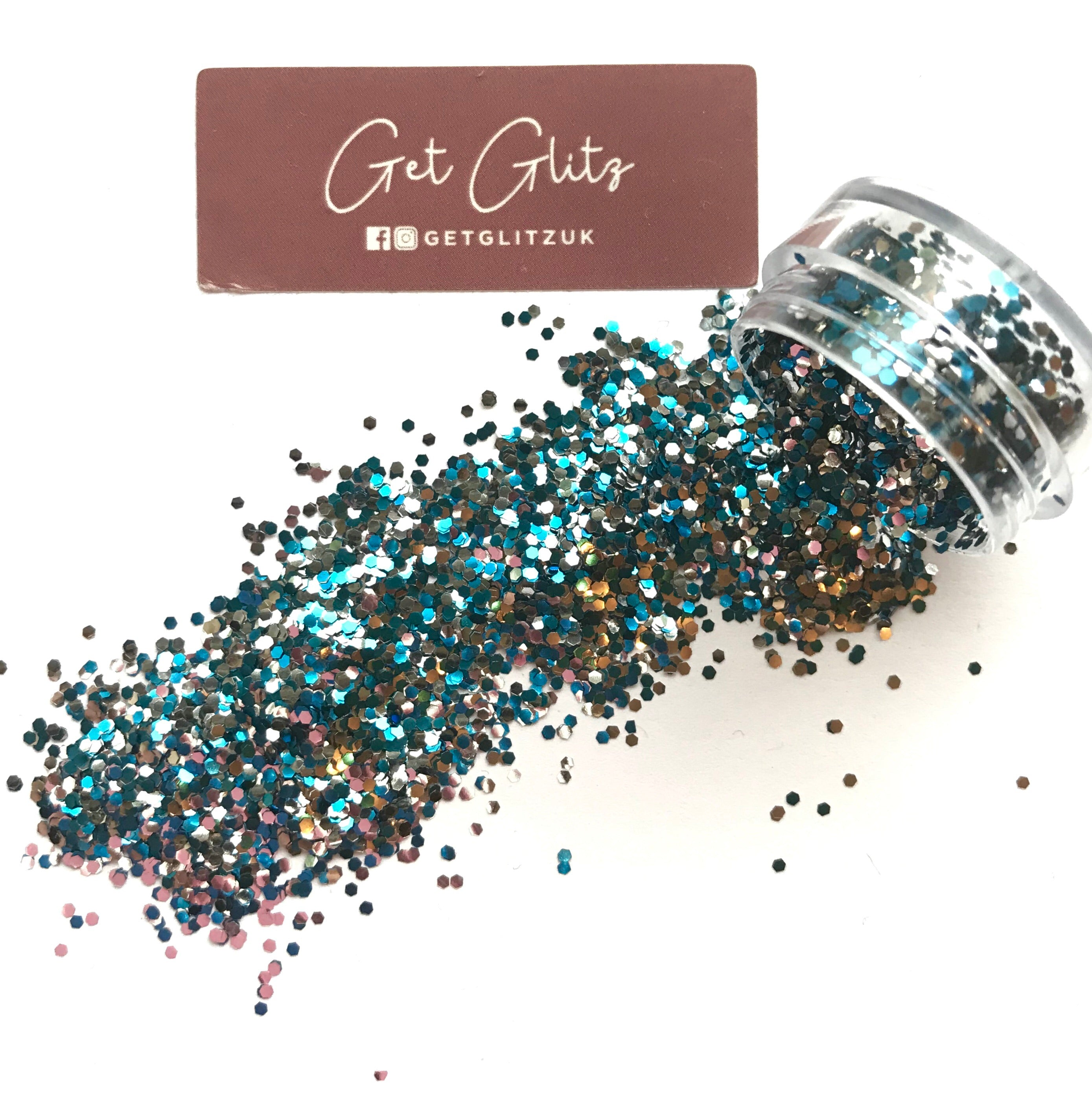 Blue lagoon biodegradable - Chunky Glitter UK