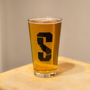 Sacramento Gear Pint Glass