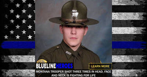 Montana Trooper Shot Three Times In Head, Face And Neck Is Fighting For His Life