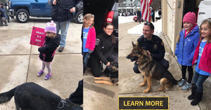 Terminally ill Wis. girl surprised by 40 Police Departments and K-9s