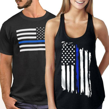 Thin Blue Line Apparel/Clothing - for Police and Law Enforcement supporters