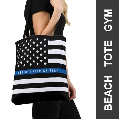 Thin Blue Line Bags - for Police and Law Enforcement Supporters